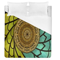 Kaleidoscope Dream Illusion Duvet Cover (queen Size)