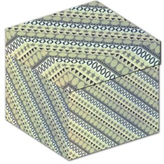 Abstract Seamless Pattern Storage Stool 12   by Amaryn4rt