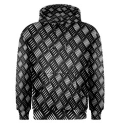 Abstract Of Metal Plate With Lines Men s Pullover Hoodie