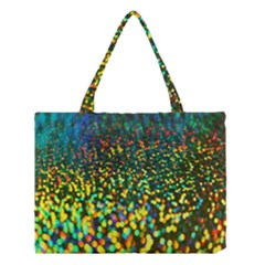 Construction Paper Iridescent Medium Tote Bag by Amaryn4rt