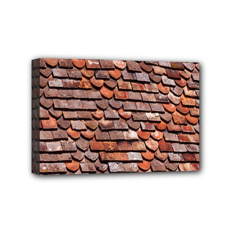 Roof Tiles On A Country House Mini Canvas 6  X 4  by Amaryn4rt