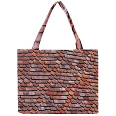 Roof Tiles On A Country House Mini Tote Bag by Amaryn4rt