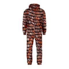 Roof Tiles On A Country House Hooded Jumpsuit (kids) by Amaryn4rt