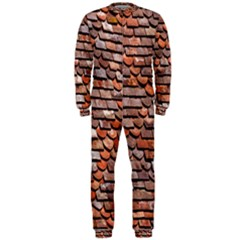 Roof Tiles On A Country House Onepiece Jumpsuit (men)  by Amaryn4rt