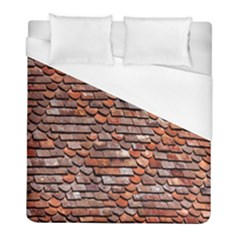 Roof Tiles On A Country House Duvet Cover (full/ Double Size) by Amaryn4rt