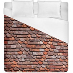 Roof Tiles On A Country House Duvet Cover (king Size) by Amaryn4rt