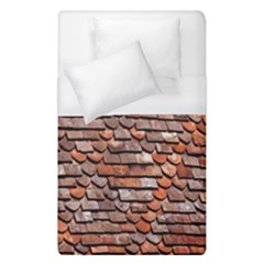 Roof Tiles On A Country House Duvet Cover (single Size) by Amaryn4rt