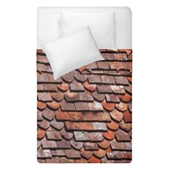 Roof Tiles On A Country House Duvet Cover Double Side (single Size) by Amaryn4rt