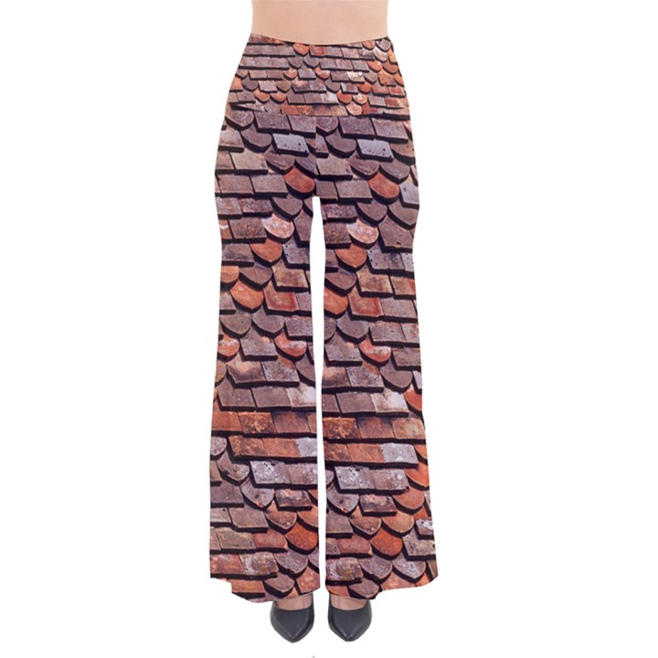 Roof Tiles On A Country House Pants
