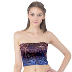 Autumn Fractal Forest Background Tube Top