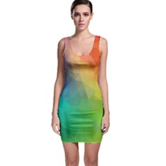 Rainbow Bodycon Dress