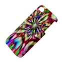 Magic Fractal Flower Multicolored Apple iPhone 4/4S Hardshell Case View4
