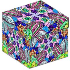 Wallpaper Created From Coloring Book Storage Stool 12   by Amaryn4rt