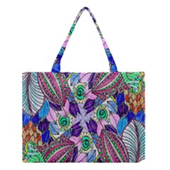 Wallpaper Created From Coloring Book Medium Tote Bag by Amaryn4rt
