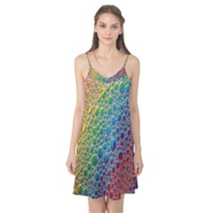 Bubbles Rainbow Colourful Colors Camis Nightgown
