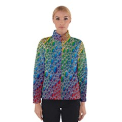 Bubbles Rainbow Colourful Colors Winterwear by Amaryn4rt