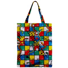 Snakes And Ladders Zipper Classic Tote Bag by Amaryn4rt