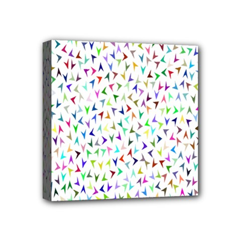 Pointer Direction Arrows Navigation Mini Canvas 4  X 4  by Amaryn4rt