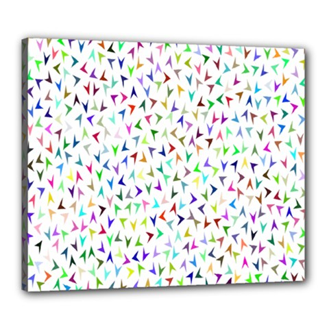 Pointer Direction Arrows Navigation Canvas 24  X 20  by Amaryn4rt