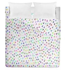 Pointer Direction Arrows Navigation Duvet Cover Double Side (queen Size)