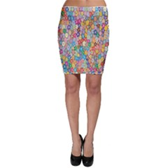 Sakura Cherry Blossom Floral Bodycon Skirt by Amaryn4rt