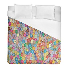 Sakura Cherry Blossom Floral Duvet Cover (full/ Double Size) by Amaryn4rt