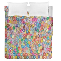 Sakura Cherry Blossom Floral Duvet Cover Double Side (queen Size) by Amaryn4rt