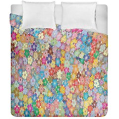 Sakura Cherry Blossom Floral Duvet Cover Double Side (california King Size) by Amaryn4rt