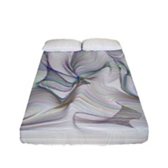 Abstract Background Chromatic Fitted Sheet (full/ Double Size)