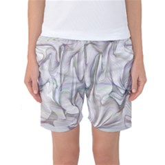Abstract Background Chromatic Women s Basketball Shorts