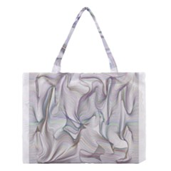 Abstract Background Chromatic Medium Tote Bag