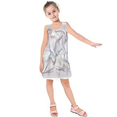 Abstract Background Chromatic Kids  Sleeveless Dress