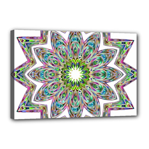 Decorative Ornamental Design Canvas 18  X 12  by Amaryn4rt