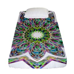 Decorative Ornamental Design Fitted Sheet (single Size)