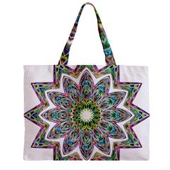 Decorative Ornamental Design Zipper Mini Tote Bag by Amaryn4rt