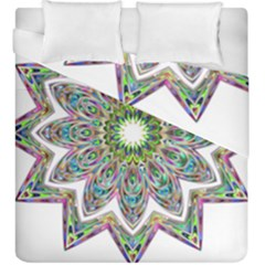 Decorative Ornamental Design Duvet Cover Double Side (king Size) by Amaryn4rt
