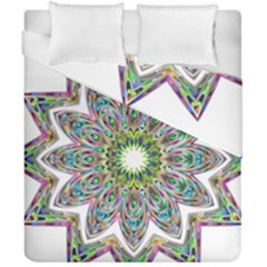 Decorative Ornamental Design Duvet Cover Double Side (california King Size) by Amaryn4rt