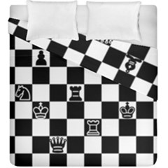 Chess Duvet Cover Double Side (king Size) by Valentinaart