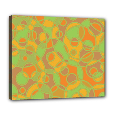Pattern Deluxe Canvas 24  X 20   by Valentinaart