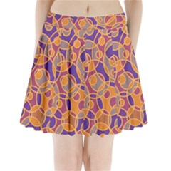 Pattern Pleated Mini Skirt by Valentinaart