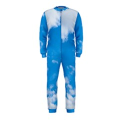 Sky Blue Clouds Nature Amazing Onepiece Jumpsuit (kids)