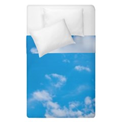 Sky Blue Clouds Nature Amazing Duvet Cover Double Side (single Size)