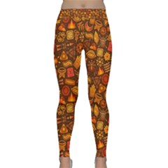 Pattern Background Ethnic Tribal Classic Yoga Leggings