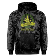 Cannabis Men s Pullover Hoodie by PattyVilleDesigns