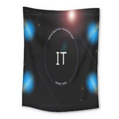 This Is An It Logo Medium Tapestry