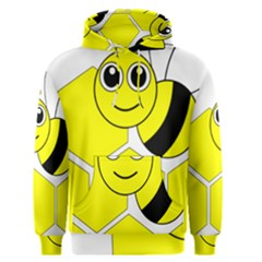 Bee Wasp Yellow Men s Pullover Hoodie by Alisyart