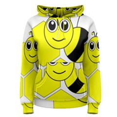 Bee Wasp Yellow Women s Pullover Hoodie