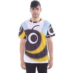 Bee Wasp Face Sinister Eye Fly Men s Sport Mesh Tee