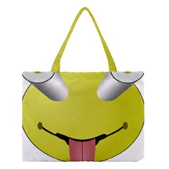 Bug Eye Tounge Medium Tote Bag