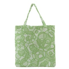 Pattern Grocery Tote Bag by Valentinaart